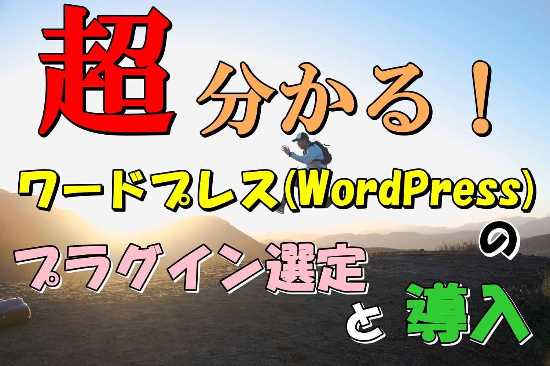 エックスサーバーのワードプレス(WordPress)のプラグイン選定